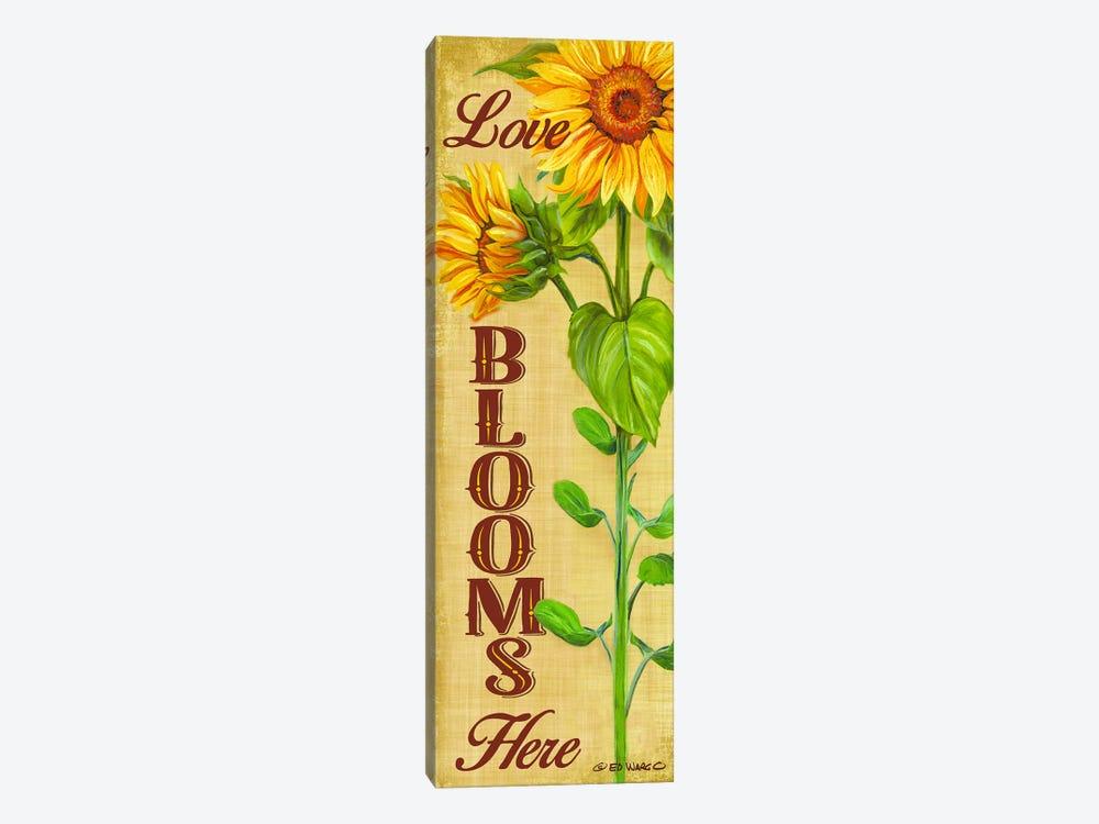 Love Blooms Here by Ed Wargo 1-piece Art Print