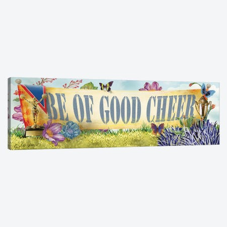 Be of Good Cheer Canvas Print #WRG8} by Ed Wargo Canvas Artwork