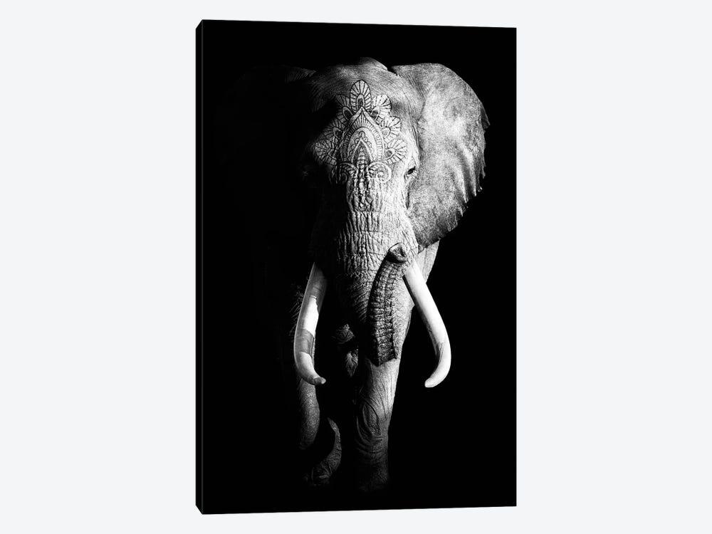Dark Elephant III by Wouter Rikken 1-piece Canvas Print
