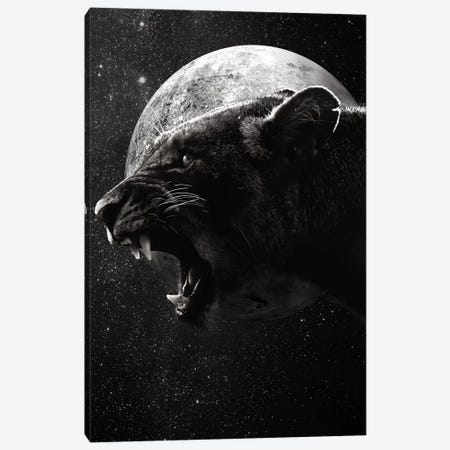 Dark Lioness Canvas Print #WRI29} by Wouter Rikken Canvas Art
