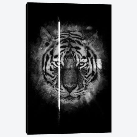 Dark Tiger II Canvas Print #WRI39} by Wouter Rikken Canvas Art Print