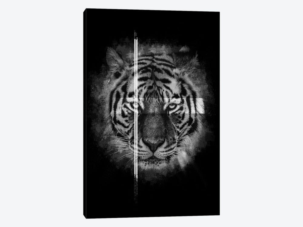 Dark Tiger II by Wouter Rikken 1-piece Canvas Wall Art