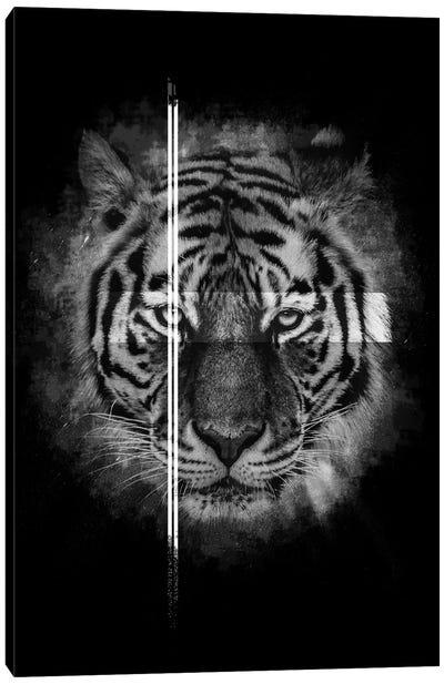 Dark Tiger II Canvas Art Print