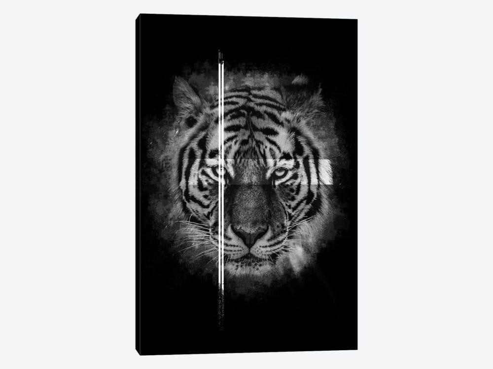 Dark Tiger II by Wouter Rikken 1-piece Canvas Wall Art
