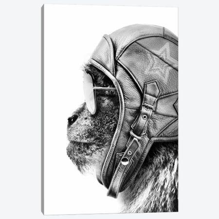Aviator Monkey Canvas Print #WRI3} by Wouter Rikken Canvas Art