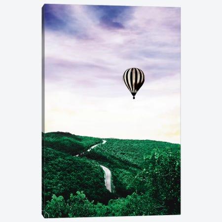 Green Spring 3-Piece Canvas #WRI50} by Wouter Rikken Art Print