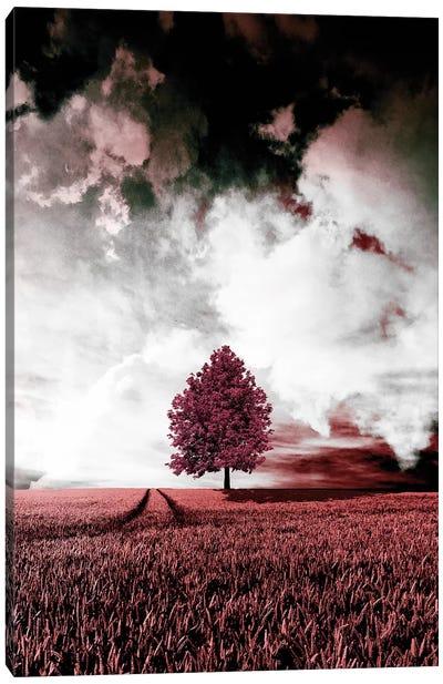 Red Autumn Canvas Art Print