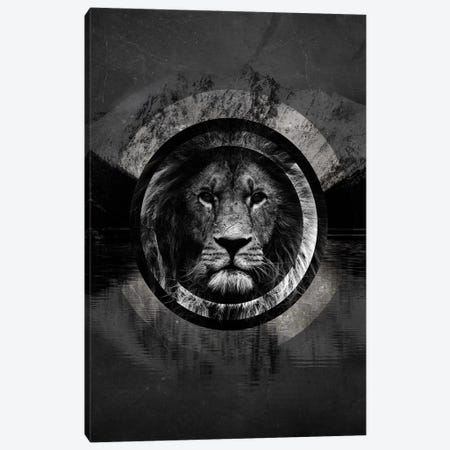 Surreal Lion Canvas Print #WRI67} by Wouter Rikken Art Print