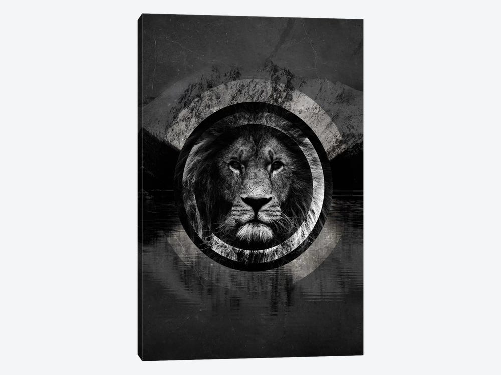 Surreal Lion 1-piece Canvas Art Print