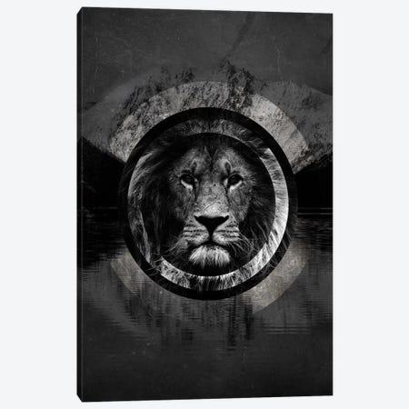 Surreal Lion Canvas Print #WRI67} by Wouter Rikken Art Print