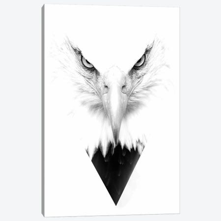 White Eagle Canvas Print #WRI73} by Wouter Rikken Canvas Art Print