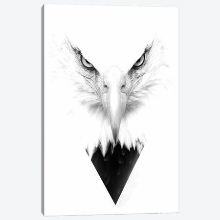White Eagle Canvas Print #WRI73} by Wouter Rikken Canvas Art Print