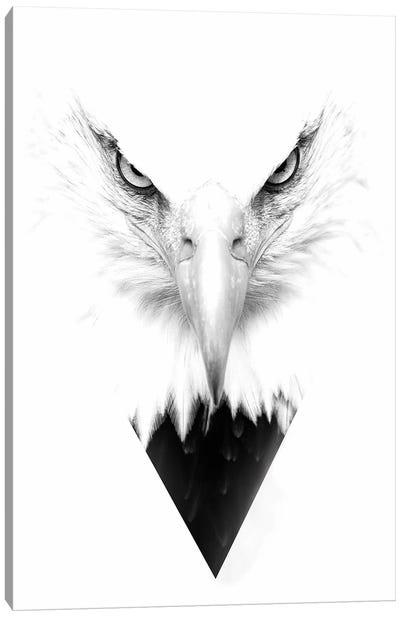 White Eagle Canvas Art Print