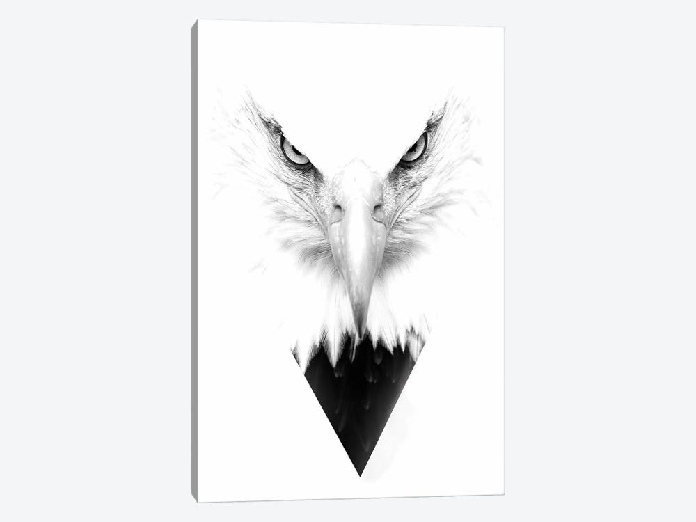 White Eagle by Wouter Rikken 1-piece Canvas Wall Art