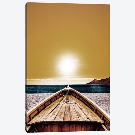 Yellow Summer Canvas Print #WRI81} by Wouter Rikken Canvas Wall Art