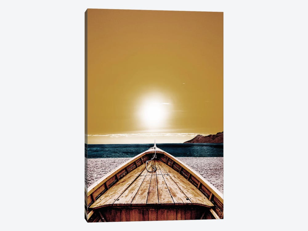 Yellow Summer by Wouter Rikken 1-piece Canvas Art Print