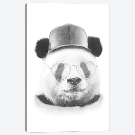Cool Panda Canvas Print #WRI84} by Wouter Rikken Art Print