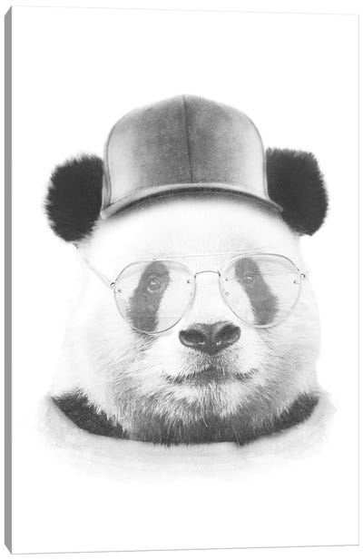 Cool Panda Canvas Art Print