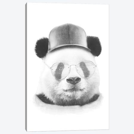 Cool Panda Canvas Print #WRI84} by Wouter Rikken Art Print