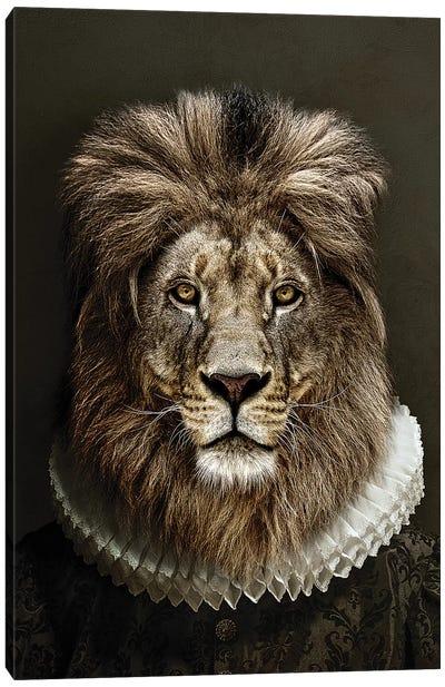 Classy Lion II Canvas Art Print