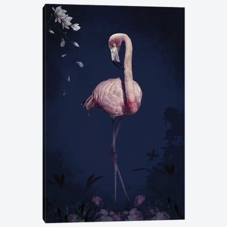 Flamingo 3-Piece Canvas #WRI97} by Wouter Rikken Canvas Artwork