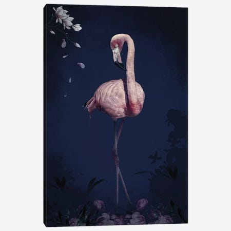 Flamingo Canvas Print #WRI97} by Wouter Rikken Canvas Artwork