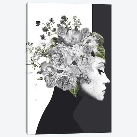 Flower Woman Canvas Print #WRI98} by Wouter Rikken Canvas Print