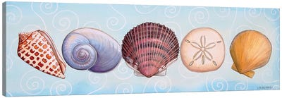2-UP Sea Dwellers I Canvas Art Print