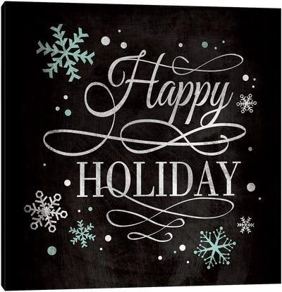 Happy Holiday Canvas Art Print