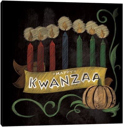 Happy Kwanzaa Canvas Art Print