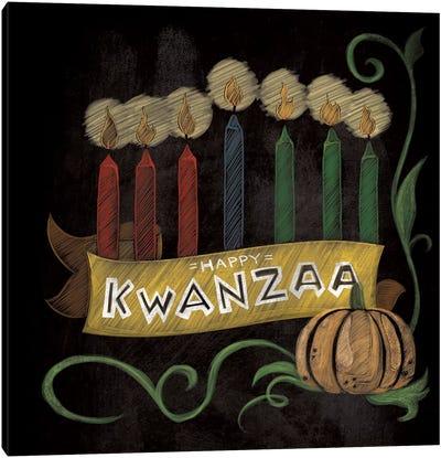Happy Kwanzaa Canvas Art Print