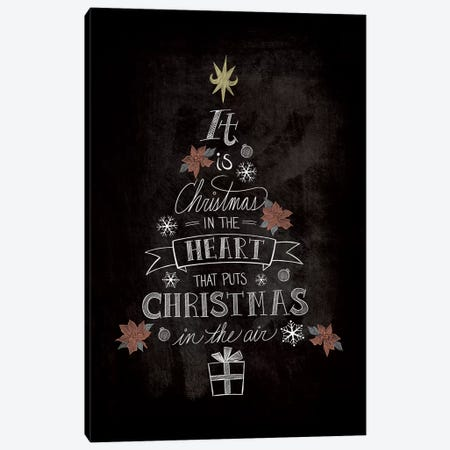 It Is Christmas Canvas Print #WSH4} by 5by5collective Art Print