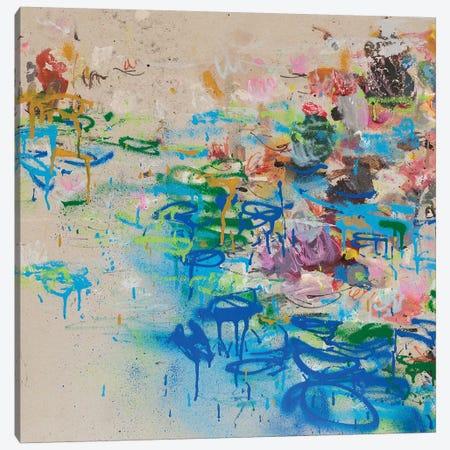 Nympheas Canvas Print #WSL103} by Wayne Sleeth Canvas Art Print