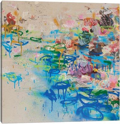 Nympheas Canvas Art Print