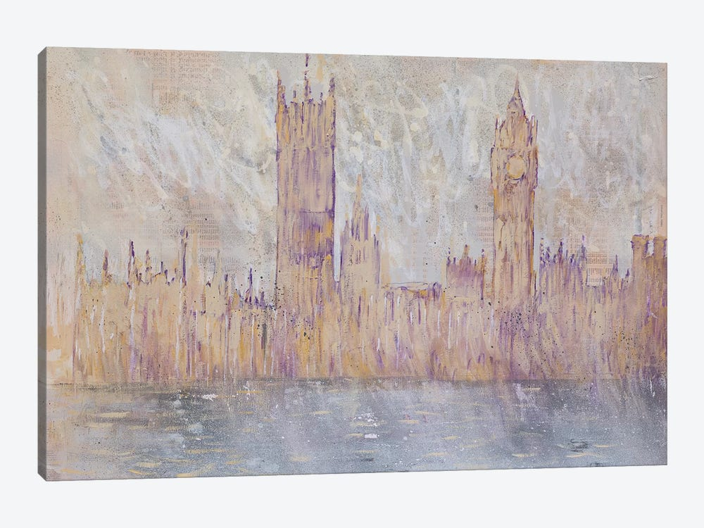 Westminster, Gold by Wayne Sleeth 1-piece Art Print