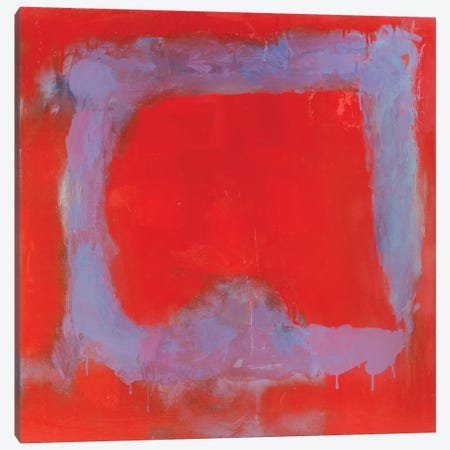 Composition In Red Canvas Print #WSL10} by Wayne Sleeth Canvas Print