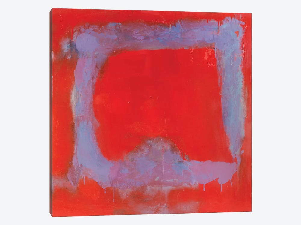 Composition In Red by Wayne Sleeth 1-piece Art Print