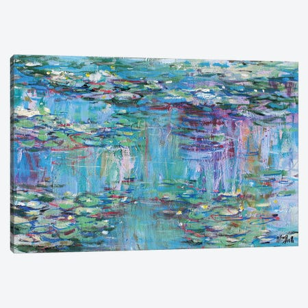 Monet Monet Monet no.67 Canvas Print #WSL112} by Wayne Sleeth Canvas Artwork