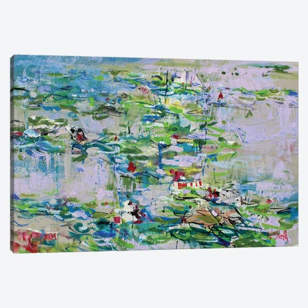Monet Monet Monet no.70 Canvas Print #WSL114} by Wayne Sleeth Canvas Print