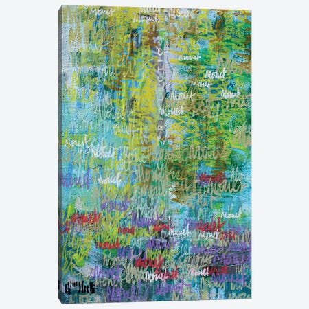 Monet Monet Monet no.71 Canvas Print #WSL115} by Wayne Sleeth Art Print