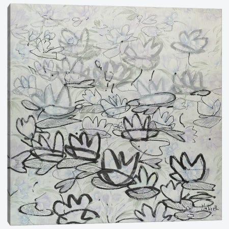 Nympheas Canvas Print #WSL118} by Wayne Sleeth Canvas Wall Art