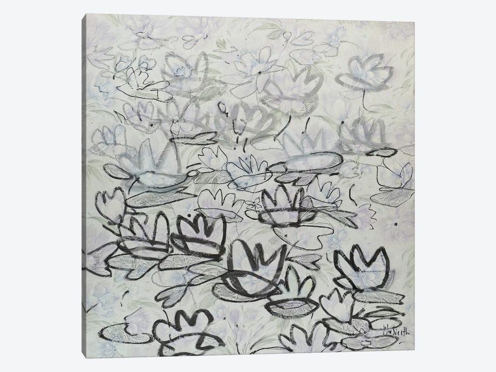 Nympheas by Wayne Sleeth 1-piece Canvas Art Print
