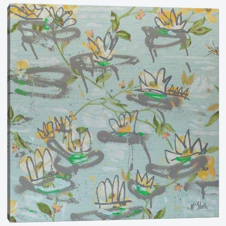 Waterlilies Canvas Print #WSL123} by Wayne Sleeth Canvas Art Print
