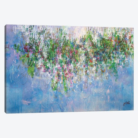 Wysteria Canvas Print #WSL124} by Wayne Sleeth Canvas Wall Art