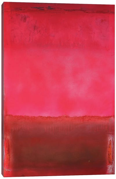 Colour Fields Series: Love In The Morning Canvas Print #WSL12