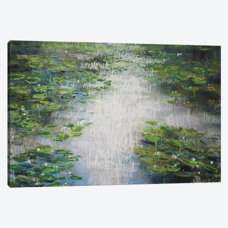 Giverny no.2 Canvas Print #WSL140} by Wayne Sleeth Canvas Art Print
