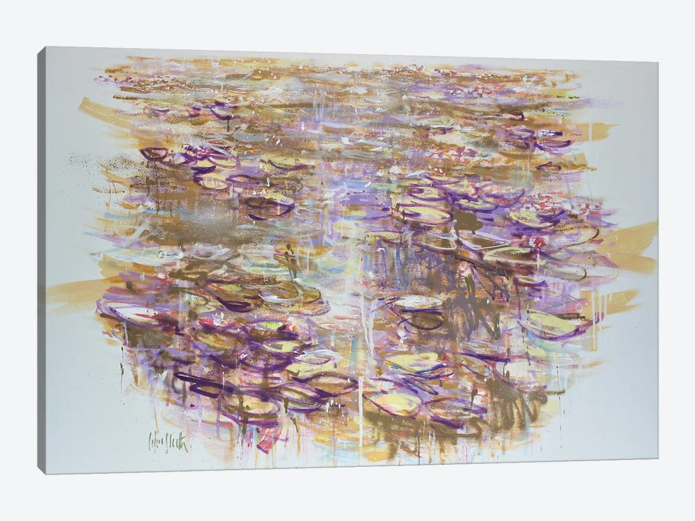 Giverny no.6 by Wayne Sleeth 1-piece Canvas Art Print