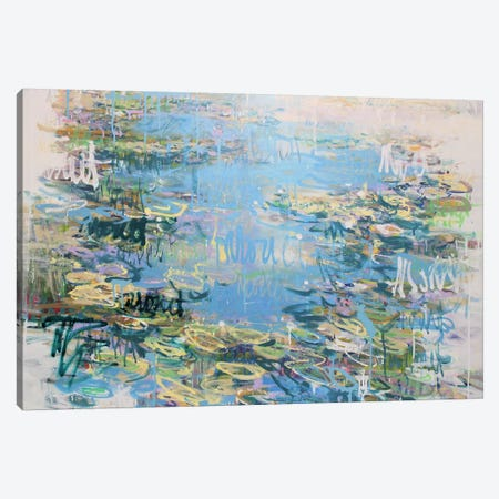 Giverny no.8 Canvas Print #WSL144} by Wayne Sleeth Canvas Art