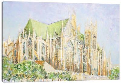 Metz Cathedral Canvas Art Print