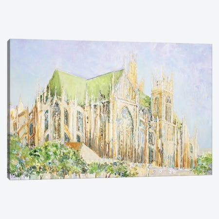 Metz Cathedral Canvas Print #WSL148} by Wayne Sleeth Canvas Art Print